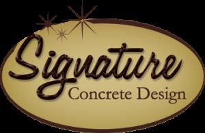 Signature Concrete logo